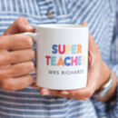 Super Teacher Personalised Mug