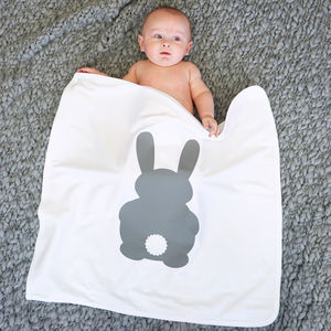 Bunny Rabbit Baby Blanket - baby & child