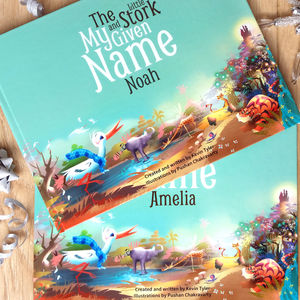 Personalised Children's Keepsake Story Book - naming day celebration gifts