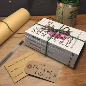 The Slow Living Library Set Of Books