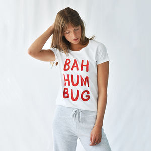 'Bah Humbug' Christmas Loungewear Set