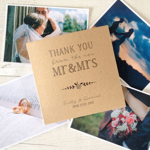 Set Of 10 'Thank You' Wedding CD Dvd Covers