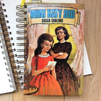 'What Katy Did' Upcycled Notebook