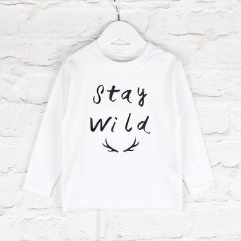 Stay Wild Can Be Personalised