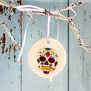 Personalised Day Of The Dead Hanging Decoration