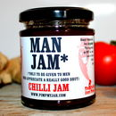 'Man Jam' Personalised Chilli Jam