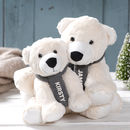 Personalised Polar Bear Family