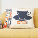 'Rosy Lee' Cockney Cushion