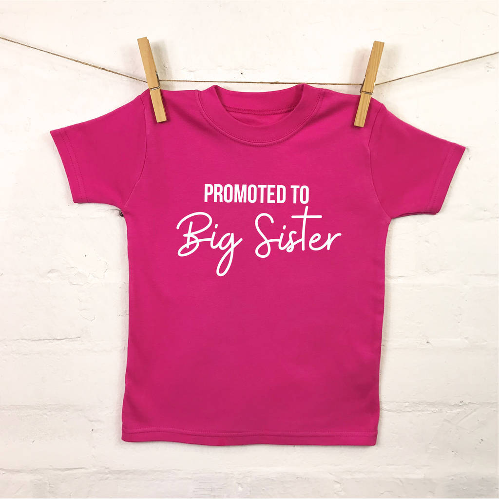 eb0d0837e96 promoted to big brother big sister t shirt by lovetree design ...