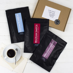 Coffee Lover Monthly Subscription Gift - christmas