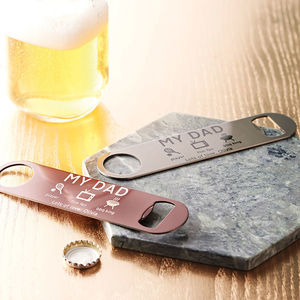 Personalised Bottle Opener - gifts for him