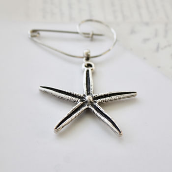 Starfish Brooch