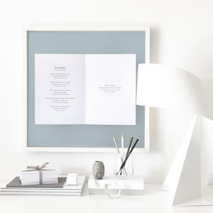 Favourite Song Personalised Framed Book - for the couple