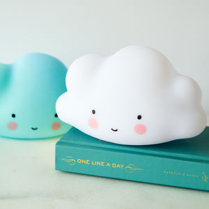 Cloud LED Night Light - children's lighting