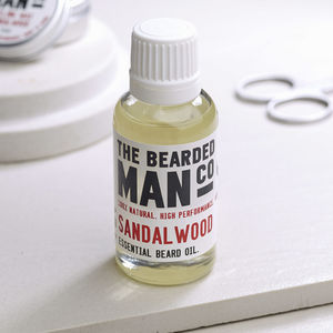The Bearded Man Company 30ml Beard Oil