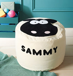 Animal Character Bean Bag - personalised