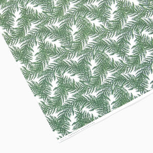 Botanical Christmas Fern Wrapping Paper - wrapping paper