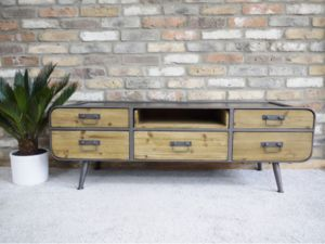 Factory Low Slung Sideboard - dressers & sideboards