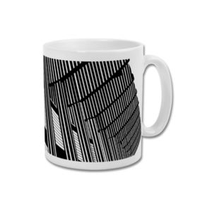 'Let's Get Brutal' Minimalist Newcastle United Mug