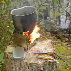 Fire Lighting Firesteel And Striker Set - picnics & barbecues