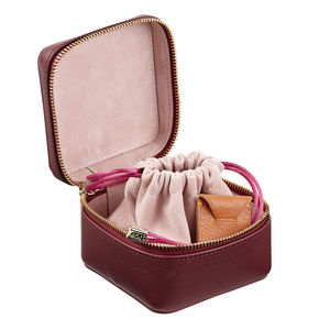Personalised Luxury Leather Jewellery Box