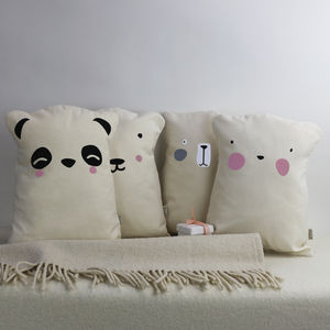 Bear Nursery Cushion - children's room