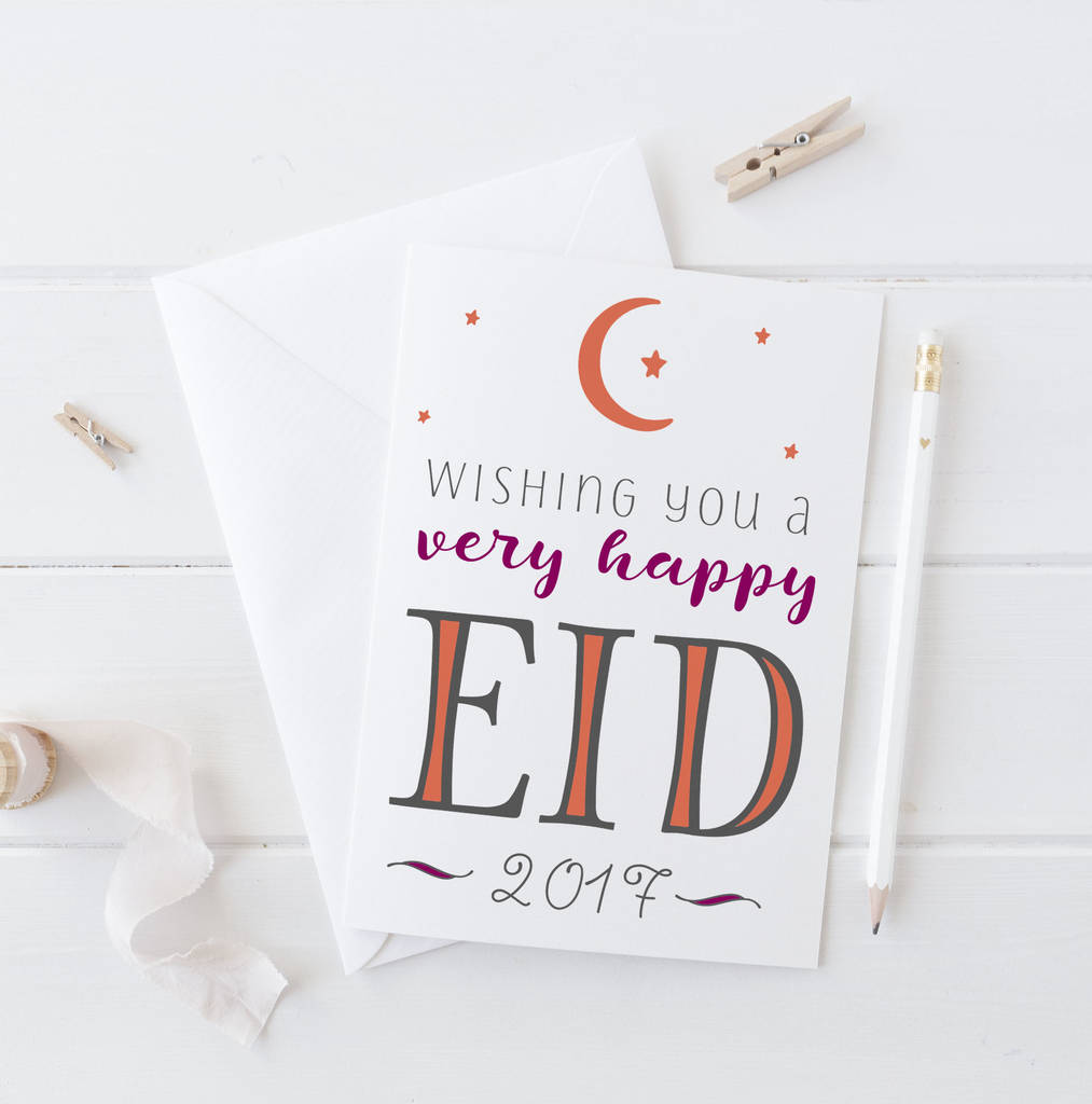 'Happy Eid' Card
