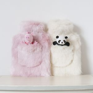Children's Fur Hot Water Bottle And Toy Collection