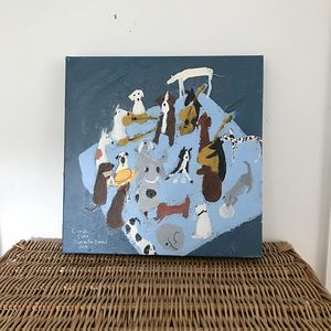 'Circle Time' Original Painting On Canvas