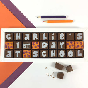 Personalised 'Back To School' Chocolates Gift - chocolates & confectionery
