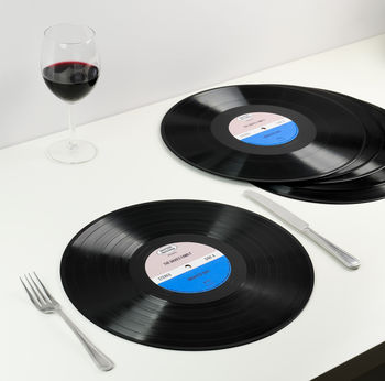 Vinyl Record Placemats