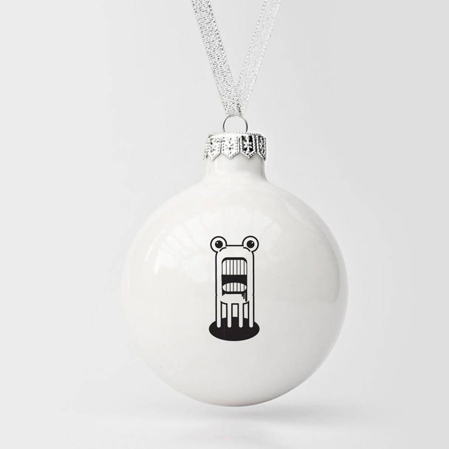 Christmas Ornament With Monster