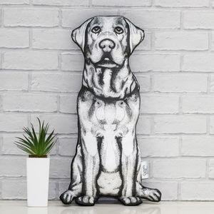 Labrador 'Molly Dog' Sofa Sculpture® Cushion