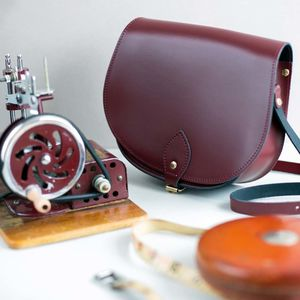Leather Saddle Bag - bags