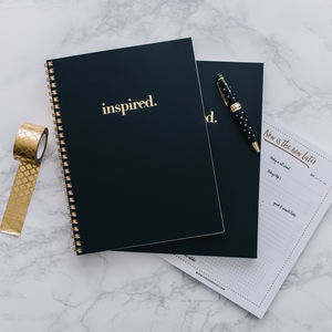 Inspired Notebook - graduation gifts