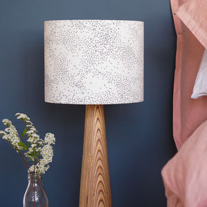 Starling Birds Drum Lampshade