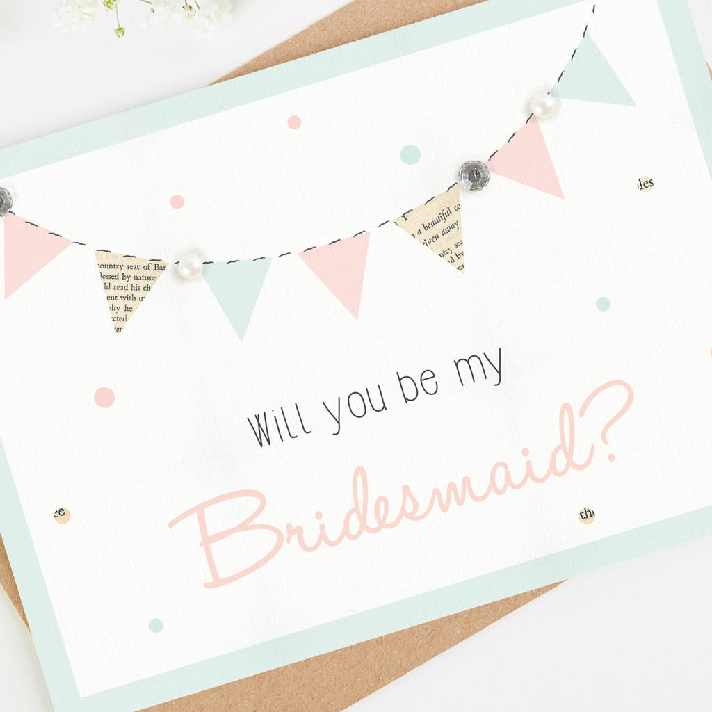 will you be my bridesmaid cards by norma dorothy. Black Bedroom Furniture Sets. Home Design Ideas