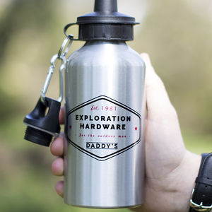 'Exploration' Personalised Water Bottle - what's new