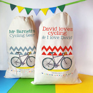 Personalised Cycling Storage Bag - more