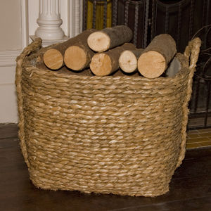 Bull Rush Square Log Basket Extra Large R0/Xl - baskets