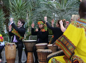 African Drumming Workshop For Four - summer sale