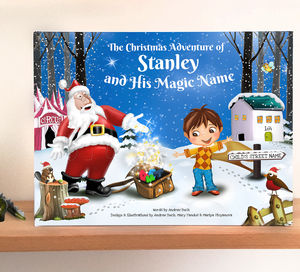 Personalised Christmas Story Book With Exclusive Cover - toys & games
