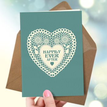 Wedding 'Happy Wedding' Card