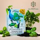 Personalised Plantable Basil Children's Story Book
