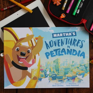 Personalised Story Book Starring Your Dog - toys & games