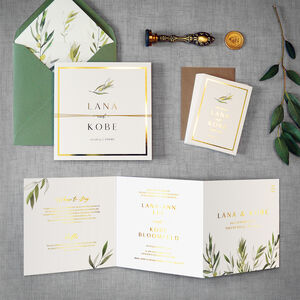 Seville Wedding Invitation