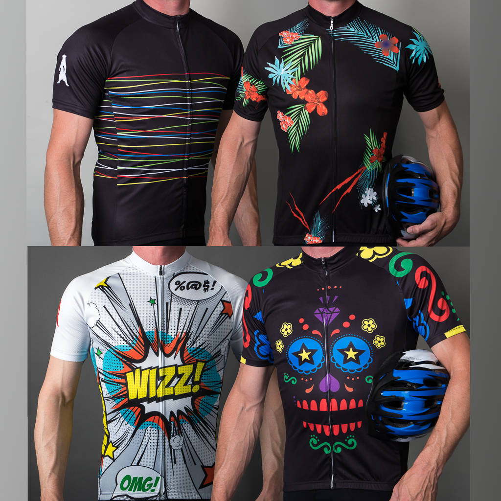 Mens Stand Out Range Of Performance Cycle Jerseys