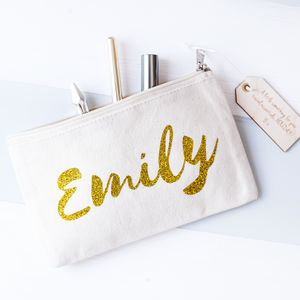Personalised Name Make Up Bag - new in health & beauty