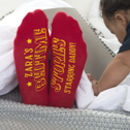 Circus Style Personalised Bedtime Story Socks
