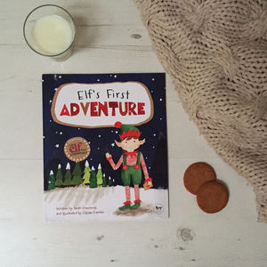 Elf's First Adventure Magical Christmas Elf Story Book - gifts: under £25